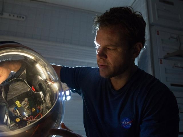 NASA orbiter captures sites of 'The Martian' landings