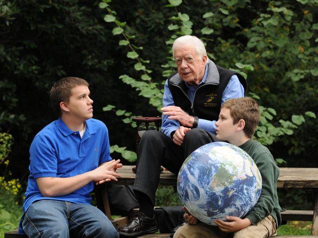 Jimmy Carter tells church his grandson is dead