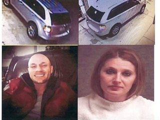 Police: Couple suspected in crime spree found