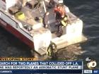 2 small planes collide near LA, 3 people missing