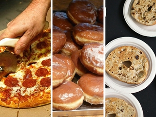 Tuesday marks National Paczki, Pizza & Bagel Day