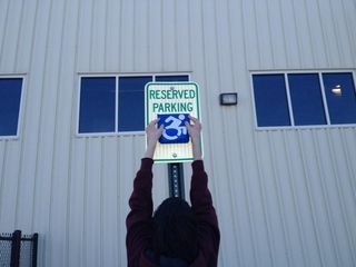 Handicapped signs could soon look different