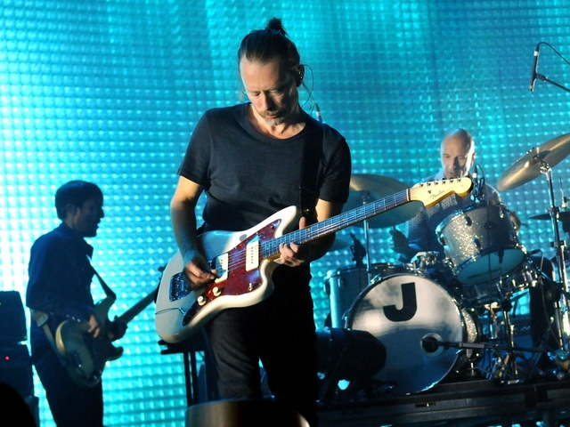 Radiohead wipes its internet presence clean