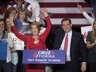 Trump jabs Cruz over Fiorina fall