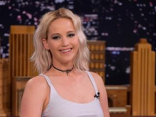 Jennifer Lawrence got snotty on 'Tonight Show'