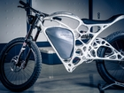 This 3-D printed motorcycle is unlike any other
