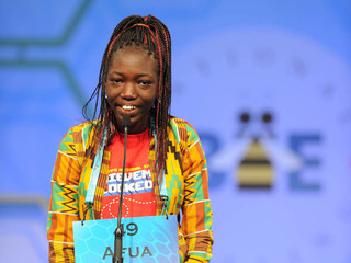 Ghana teen beats the odds at Spelling Bee