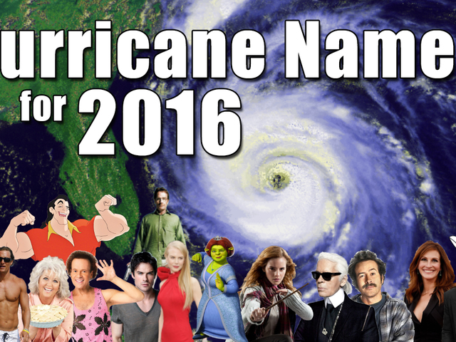 Hurricane Names 2016