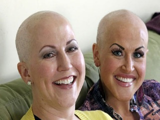 Sisters fight breast cancer together