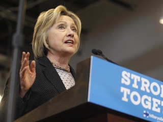 Clinton raising big dollars at tiny fundraisers