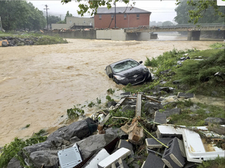 20 dead following 9 inches of rainfall in WV