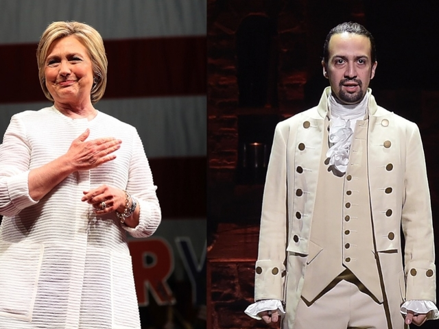 Hillary Clinton teams up with 'Hamilton'