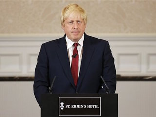 Boris Johnson opts out of leadership run