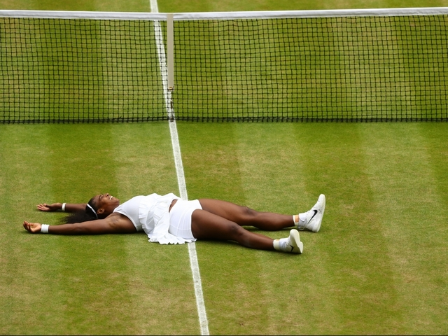 Serena Williams wins Wimbledon crown for 22nd Grand Slam title