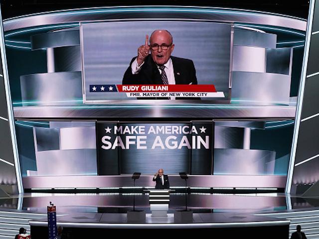 Watch Rudy Giuliani Make America RAGE Again