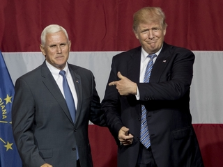 Trump credits Pence for record fundraising day