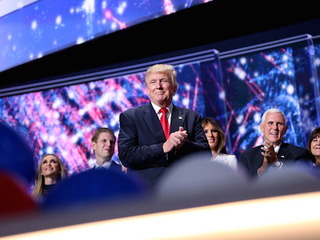Opinion: Trump caps chaotic convention