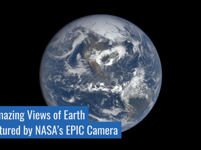 7 Amazing views of Earth from NASA's EPIC camera
