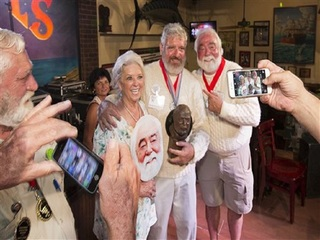 Man named Hemingway wins look-alike contest