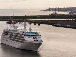 Some Olympians are staying on cruise ships