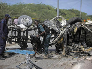 Somalia: Suicide car bomb hits UN mine offices