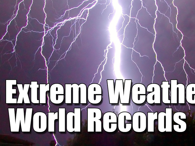 8 Extreme Weather Records from around the World