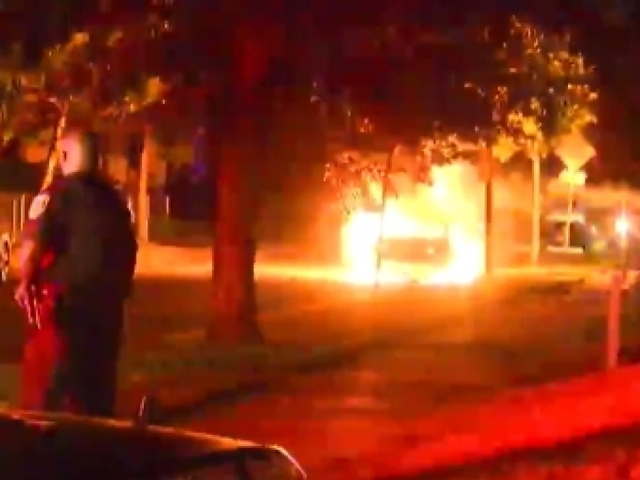 Appeals for calm as violence erupts after Milwaukee cops shoot armed man