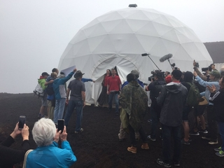 Crew returns to Earth after mock Mars mission