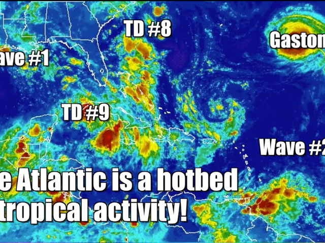 Hurricane hotbed in the Atlantic
