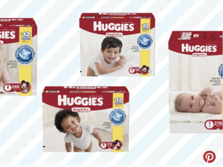 Amazon has a 55% off diapers deal right now
