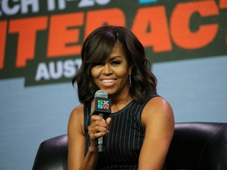 Michelle Obama responds to Trump plagiarism
