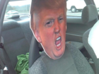 Driving with giant Trump cutout cost driver $136