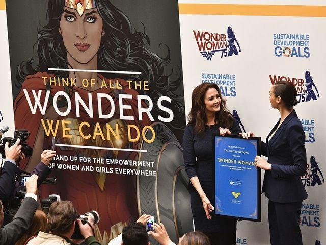 UN names Wonder Woman honorary ambassador