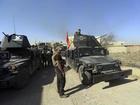 Iraqi forces advance northeast of Mosul