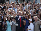 Trump hits hard at 'Obamacare' after report