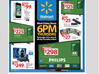 Walmart 2016 Black Friday ad is released