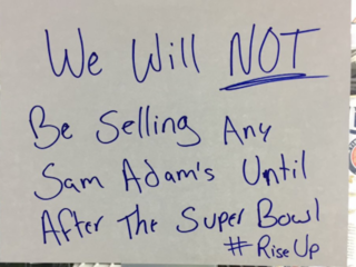 Super Bowl: Ga. gas station won't sell Sam Adams