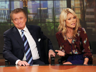 Regis Philbin: Kelly Ripa and I don't talk