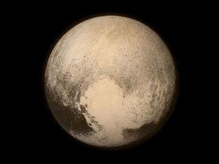 Help name Pluto's surface features