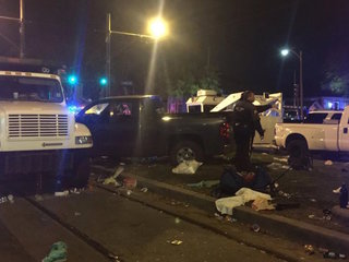 Truck rams New Orleans crowd during parade