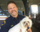 Firefighters save dog with 20 minutes of CPR