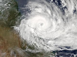 Tropical Cyclone Debbie slams into Australia