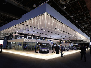 Shanghai auto show: Ford, Volvo show off