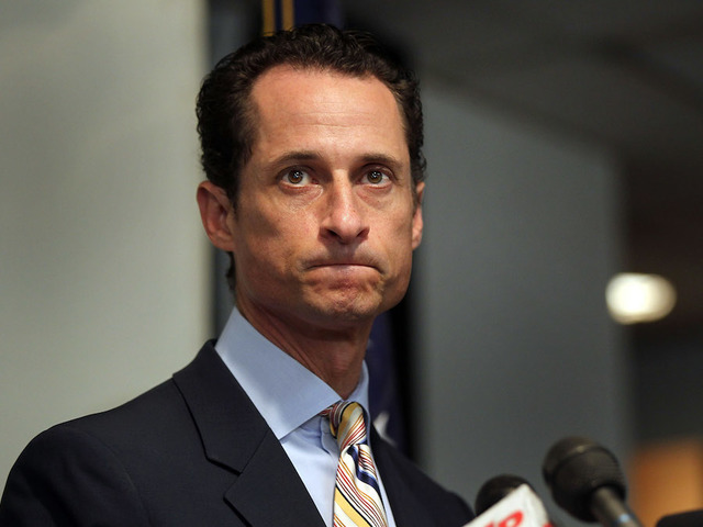 Disgraced former US congressman Anthony Weiner admits sexting 15-year-old