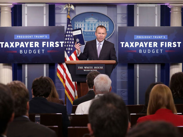 Trump budget keeps pledges: Cuts for poor, more for military