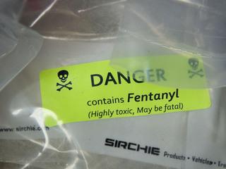 Massive raid finds hundreds of grams of fentanyl