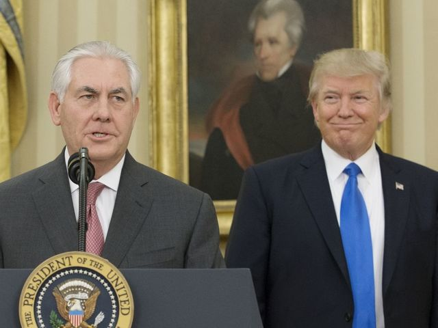 A moron? But I have higher IQ than Rex Tillerson, claims Trump