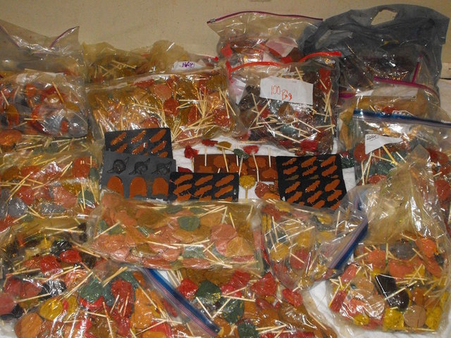 Deputies find 600 pounds of meth disguised as candy