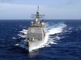 Navy fires warning shots at Iranian boat
