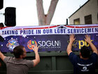 Soldier okayed to wear uniform in Pride parade